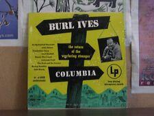 "BURL IVES, RETURN OF WAYFARING STRANGER - 10"" CL 6058"