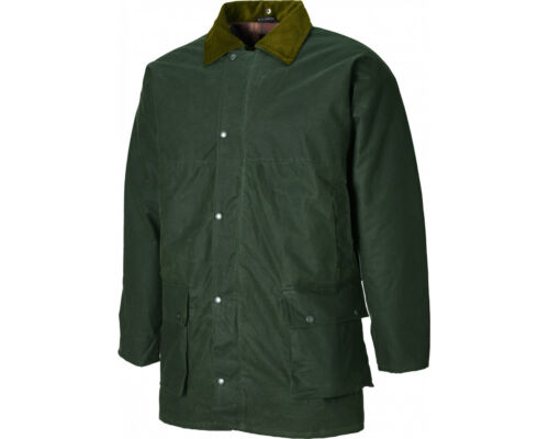 SPECIAL OFFER Dickies Westfield Mens Wax Agri Jacket Bottle Green