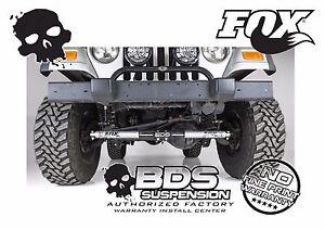 Jeep Steering Stabilizer >> Fox Dual Steering Stabilizer For 97 2006 Wrangler Tj Lj 84 2001