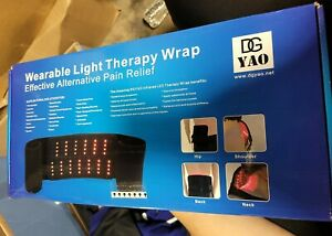 DGYAO Red Light Therapy Infrared Light Therapy Devices Wearable Wrap damaged box