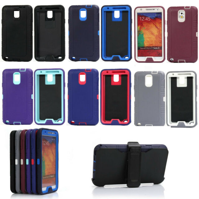 Shockproof Camo Defender Case Cover for Samsung Galaxy Note 3