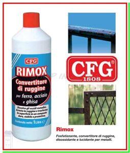 Convertitore-di-Ruggine-RIMOX-1000ml-Fosfatante-Disossidante-Togliruggine-Lucida