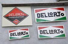 Dellorto Aufkleber SET Vergaser PHB Vespa Piaggio Ducati MV Aprilia Roller PX SS