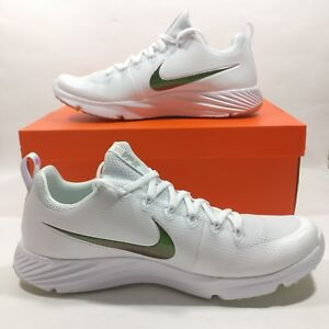 the best attitude 40896 dfaac Image is loading Nike-Vapor-Untouchable-Speed-Turf-Football-Cleats-White-