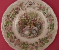 ROYAL DOULTON BRAMBLY HEDGE SUMMER THE AFTERNOON TEA PLATE
