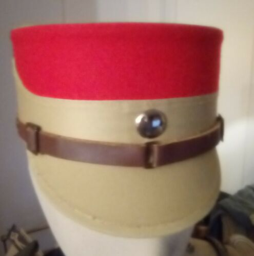 QG Reproduction de qualité T 59 Képi troupe bandeau rouge