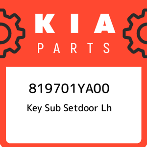 819701YA00-Kia-Key-sub-setdoor-lh-819701YA00-New-Genuine-OEM-Part