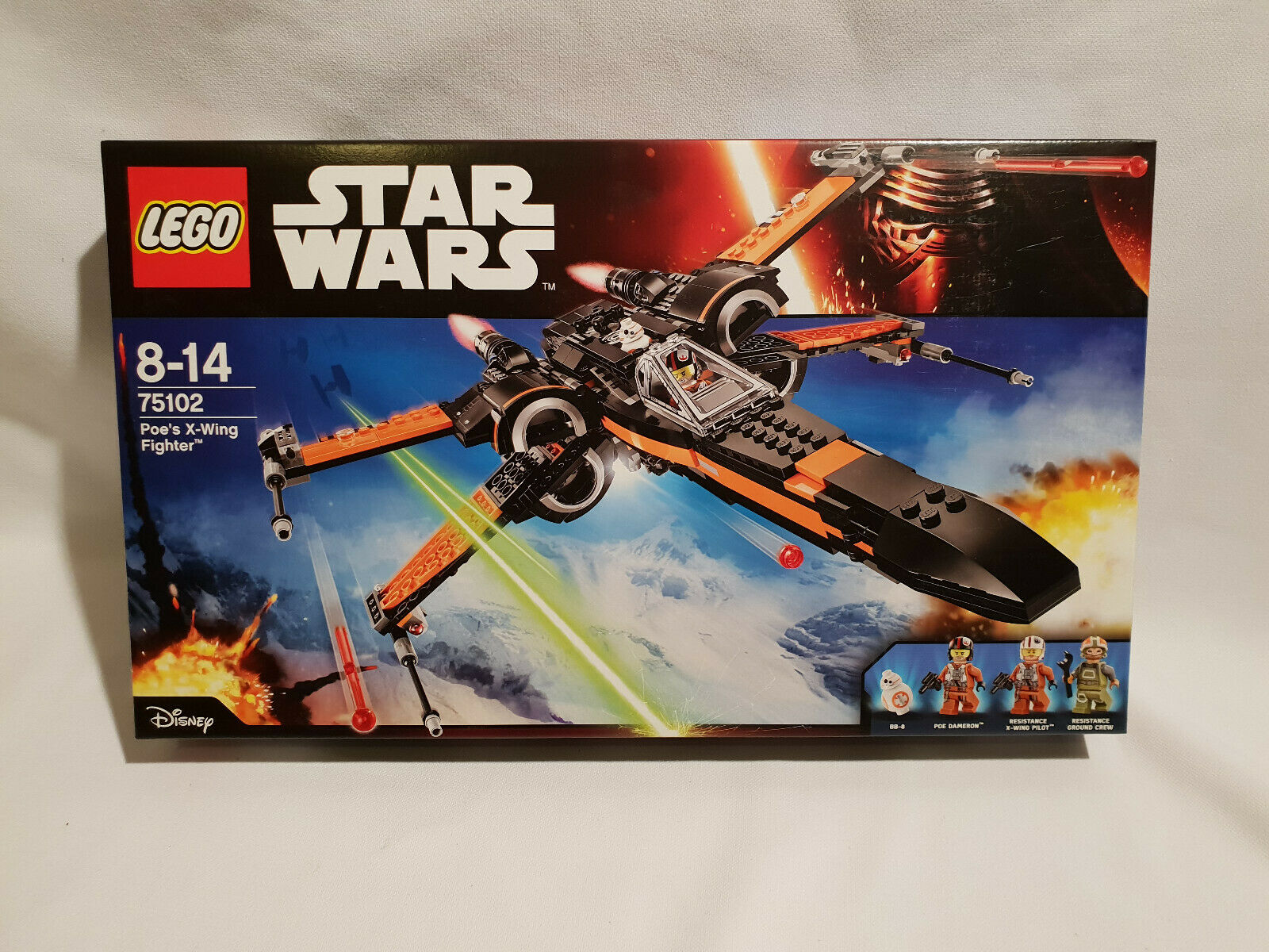 LEGO 75102 STARWARS Poe's X-Wing Fighter NEUF, SCELLE