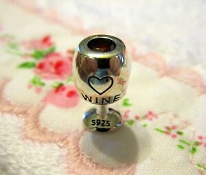 Love-Wine-Charm-Bead-European-Sterling-Silver-Ruby-Red-Crystal
