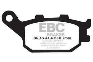 Ajuste-Honda-CBF-600-N4-S4-N5-N6-04-gt-06-EBC-Sinterizadas-Pad-Set-Trasero