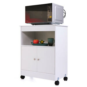 Genial Image Is Loading Home Kitchen Microwave Cart Storage Large Open Shelf