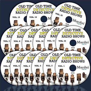 Details about Old Time Detective Radio Shows – 6385 Mp3 on 15 DVD  Mystery/Crime 2600 Hours OTR