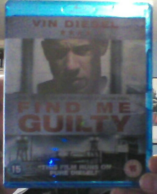 Find Me Guilty (Blu-ray) (NEW AND SEALED)