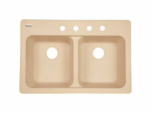 Kindred-Tectonite-Dual-Mount-33-in-W-x-22-in-L-Kitchen-Sink-Sand