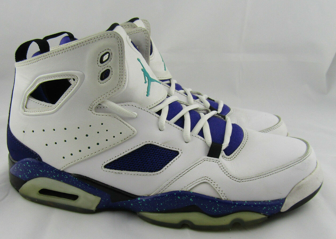 Nike Air Jordan Grape Flight Club 91 Basketball Shoes White 555475-108 Price reduction