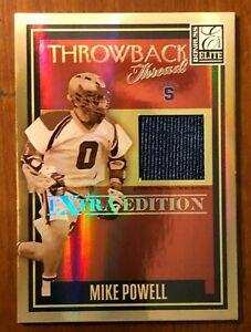 Mikey Powell - Syracuse Lacrosse - Donruss - Throwback Threads card