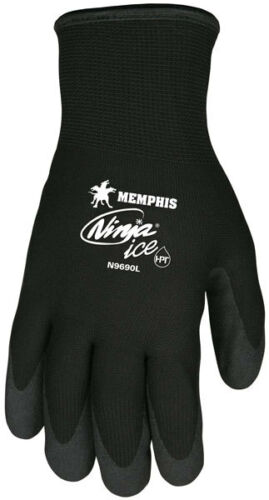 Memphis N9690XL Ninja Ice Mechanic//Ice Fishing Gloves Size X-Large 3 Pair