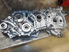 suzuki burgman 650 an650 left engine crank case 06 2007 2008 2009 1010 2011 2012