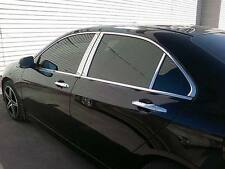 JAGUAR X-TYPE 02 03 04 05 06 07 08 09 CHROME DOOR PILLARS MIRROR