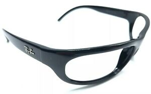 RAY-BAN-RB4033-601-Men-s-Sunglass-Frames-Wrap-Shiny-Black-Frames-Only-2121