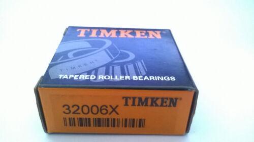 TIMKEN 32006 X Tasse /& cône de roulement à rouleaux coniques 30x55x17mm