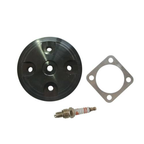 Stroke Engine Motorized Bicycle Cylinder Head Cover With Gasket For 66 80cc 2