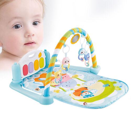 Infant Toddler Baby Play Activity Gym Playmat Floor Mat Kids Musical Carpet Mat