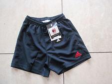 AC Milan Adidas Hose Größe XXS (140 cm) Farbe schwarz/rot Neu
