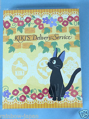 Kiki's Delivery Service Mini Memo Pad 4 pattern sheets Studio Ghibli toys JAPAN