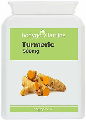 Turmeric Capsules (Golden Organic Powder)