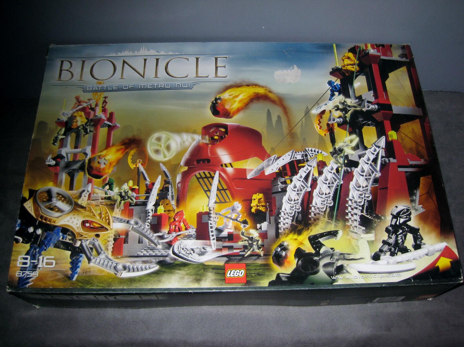 Lego 8759 Bionicle Battle of Metru Nui complet