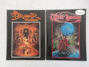 Lot of 2 Frank Brunner THE BRUNNER MYSTIQUE & AFTER IMAGE 1976 & 1978 1st's