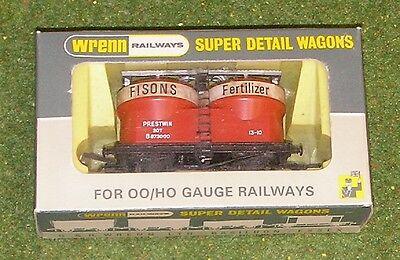 Tireless Wrenn Railways Oo Gauge Wagons W4658 Prestwin Wagon Fison Careful Calculation And Strict Budgeting Freight Cars