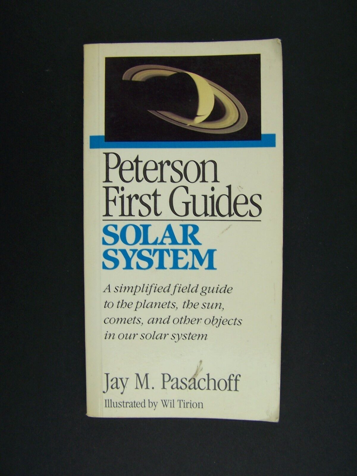 Peterson First Guide to Solar System Paperback Jay Pasa