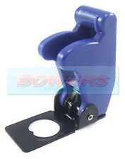 12V 24V BLUE FLIP UP AIRCRAFT MISSILE STYLE TOGGLE FLICK SWITCH COVER GUARD