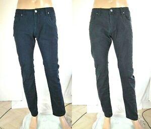 Jeans-Uomo-Pantaloni-COVERI-SA567-Blu-o-Grigio-Tg-48-50-52-54-56-58