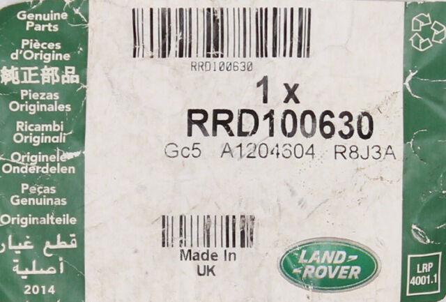 LAND ROVER SPARE ALLOY WHEEL LUG NUT SET x3 DISCOVERY II 2 RRD100630 USED