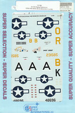 1/72 SuperScale Decals B-17G Flying Fortress 850th BS 490th BG 91st BG 72-748