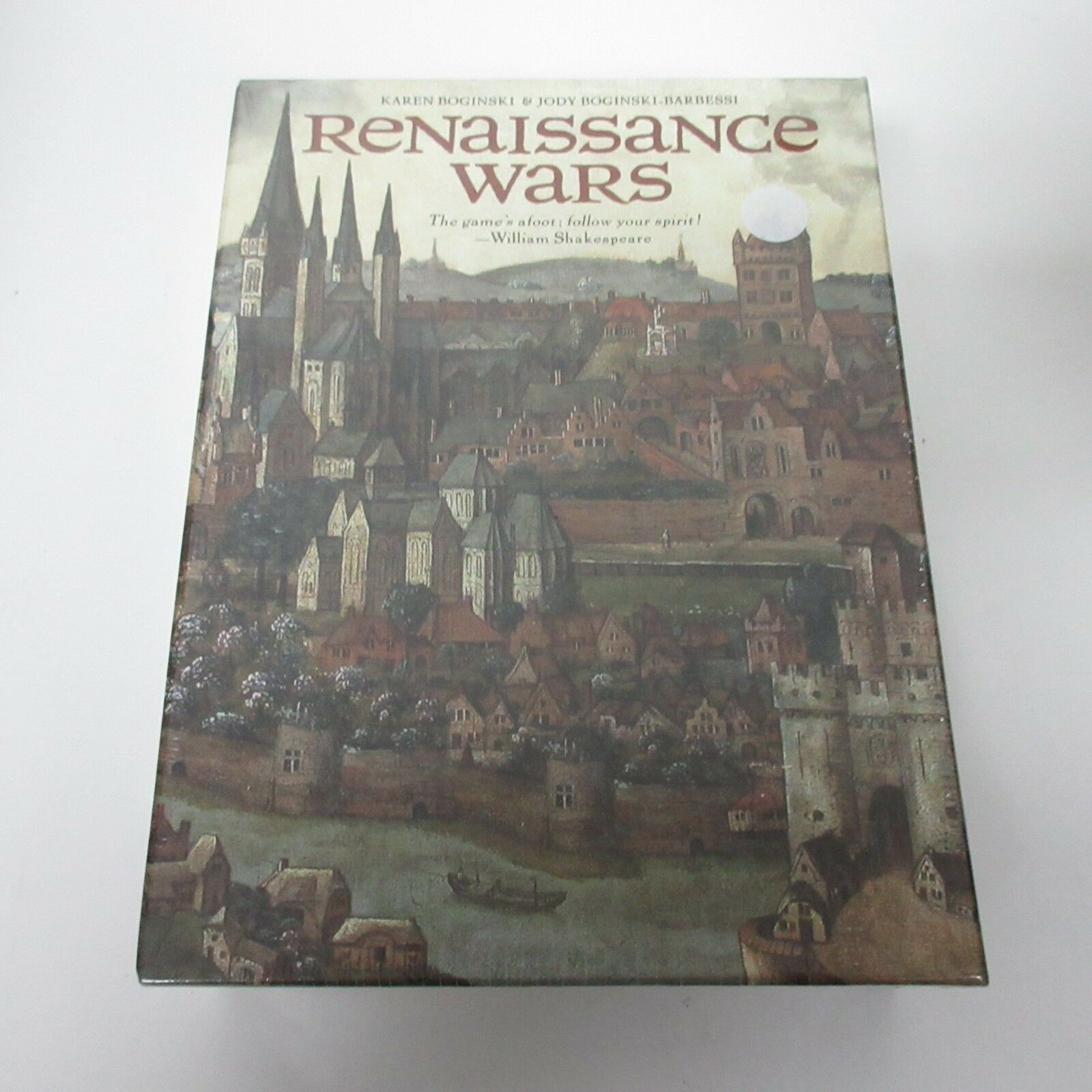 U. S. Games Inc. Renaissance Wars Board Game NEW