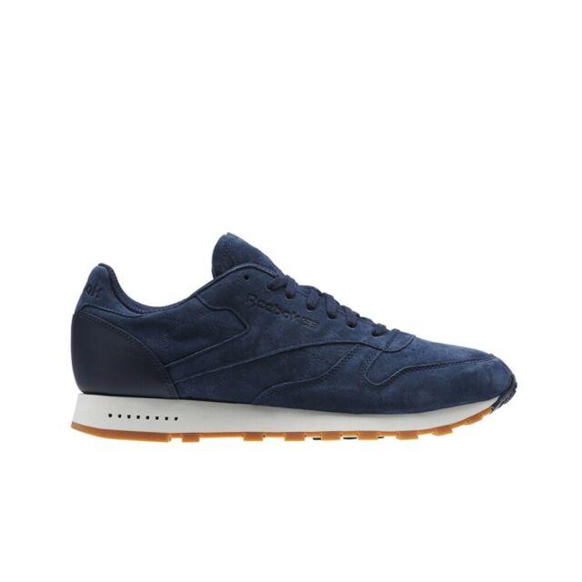 Reebok Classic Leather SG (Collegiate NavyChalk Gum) Men's Shoes
