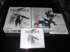 FINAL FANTASY 7 VII kpl. Deutsch für PC Erstausgabe BIG BOX