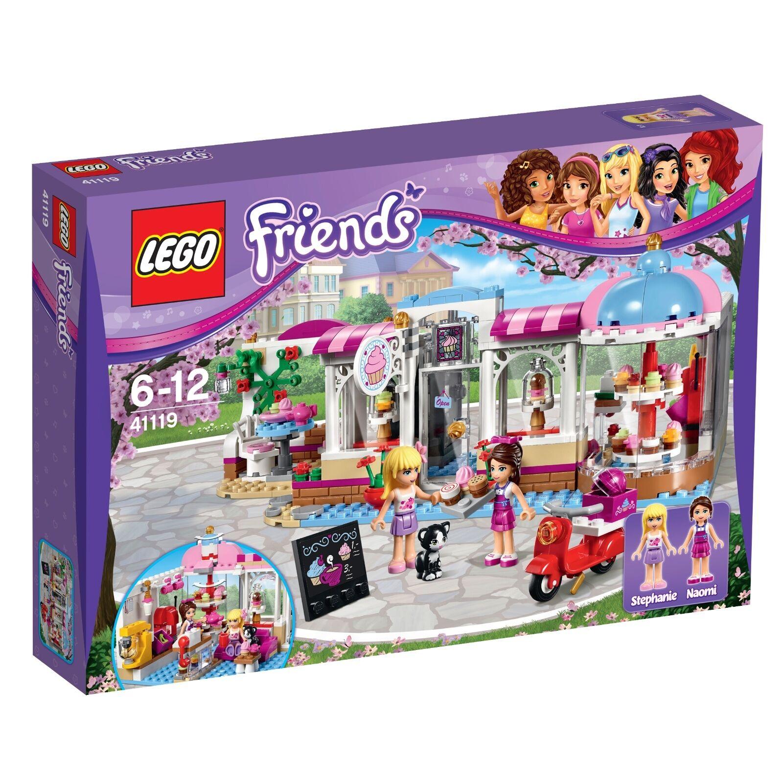 LEGO ® Friends 41119 Heartlake Cupcake-Café NEUF neuf dans sa boîte NEW En parfait état, dans sa boîte scellée Boîte d'origine jamais ouverte