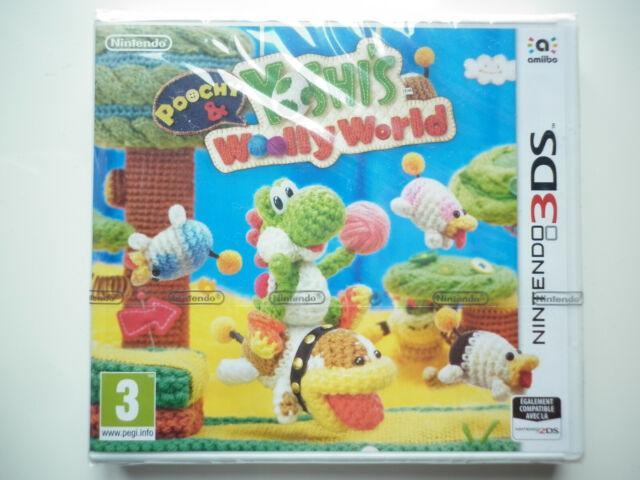 Poochy & Yoshi's Woolly World Juego Vídeo Nintendo 3DS