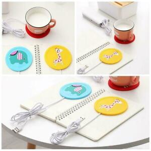 Warmer-Heating-Cup-Mat-Pad-Coaster-USB-Power-Suply-Mug-Cup-Coffee-Office-Q4Q3