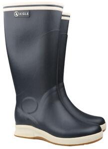new concept dd8ee d0269 Details zu Aigle Skey Marine Gummistiefel Damen Herren Stiefel Schuhe 37362  Gr. 35 - 41 NEU