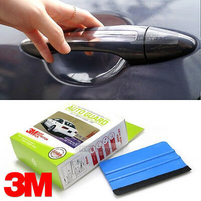 Transparent Glossy Luxshield Auto Door Handle Protective Film for recessed Grips 5 Pack
