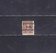 Canada Stamps - Precancels - Hamilton ONT 5-218 - CV $20