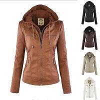 Mode Damen Winter Dick Kapuzenjacke Kapuzenpulli Shorts Warme Jacke Outwearlinie