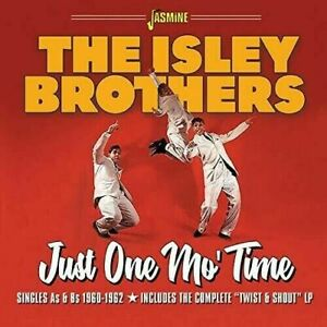 THE-ISLEY-BROTHERS-Just-One-Mo-039-Time-CD-new-sealed-25-tracks