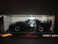 Hot Wheels Pontiac Firebird KITT Knight Rider Knight Industries 2000 1/18